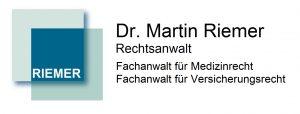Dr. Riemer – Fachanwalt für Versicherungsrecht und Fachanwalt für Medizinrecht in Köln